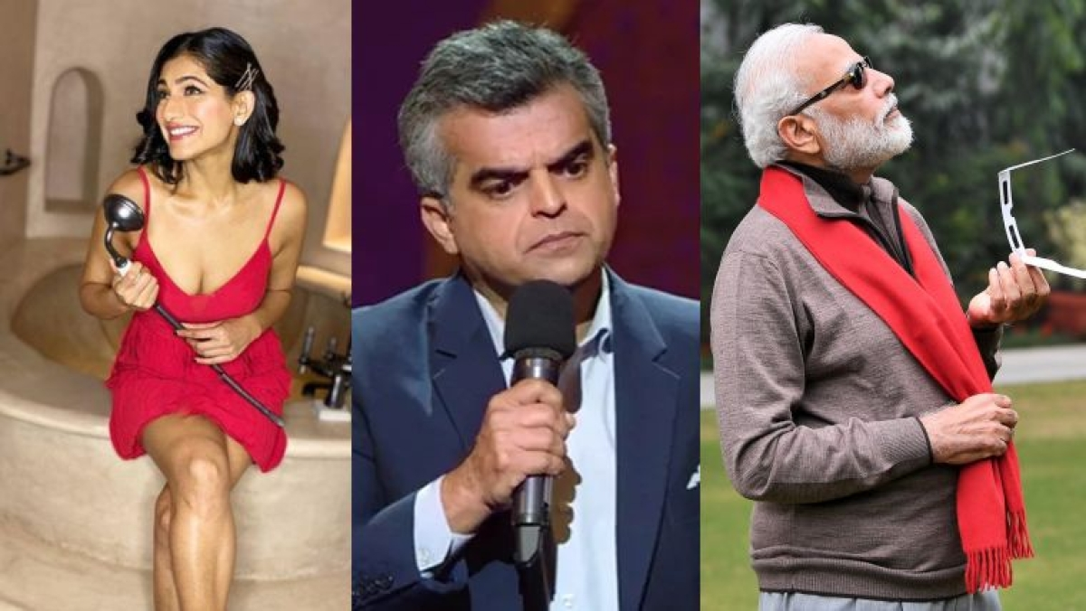 Atul Khatri wonders if Modi's 'Maybach glasses come free with the car', Kubbra Sait has epic reply