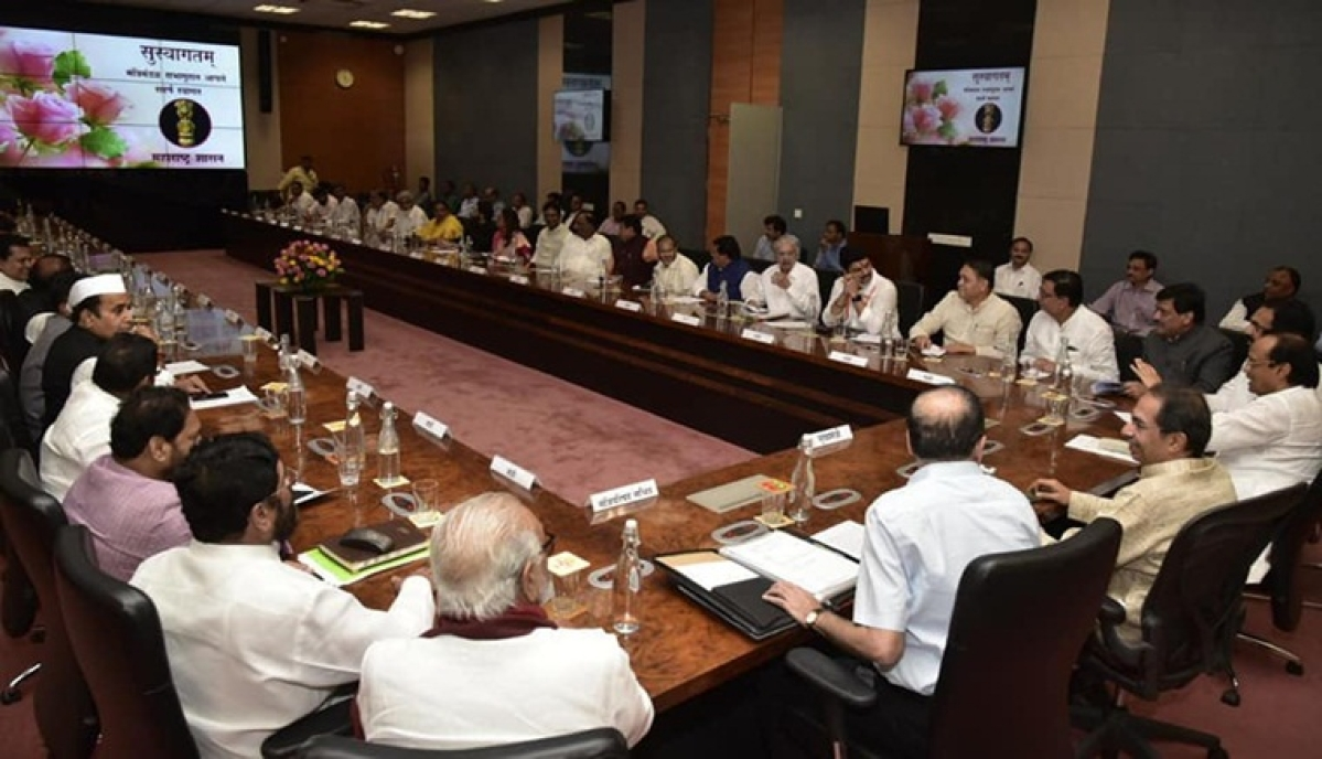 CM Uddhav Thackeray chairs first Cabinet meeting after Maharashtra Cabinet expansion