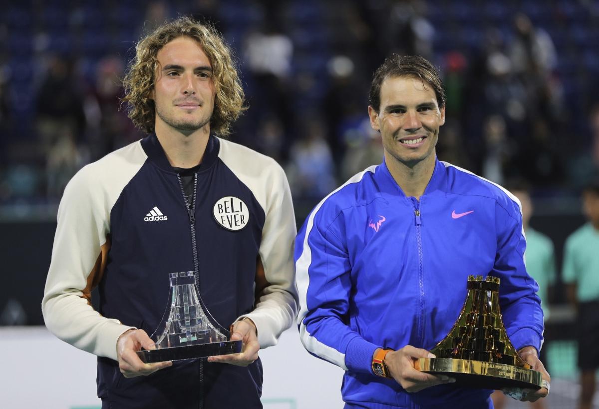 ATP Finals - DRAW: Novak Djokovic and Rafael Nadal seek ...   Nadal Tsitsipas
