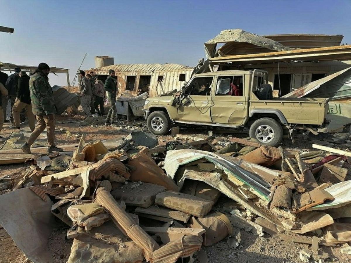 US strikes on Iran-backed militia in Iraq, Syria kill 25
