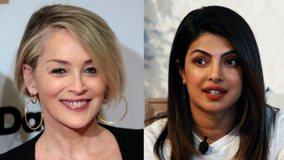 Sharon Stone calls out Priyanka Chopra's dating app for shutting her account