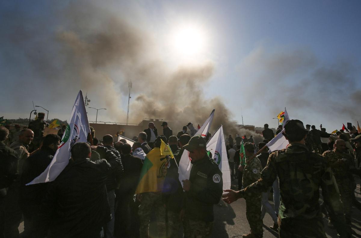 Baghdad: US embassy staff evacuated amid protests