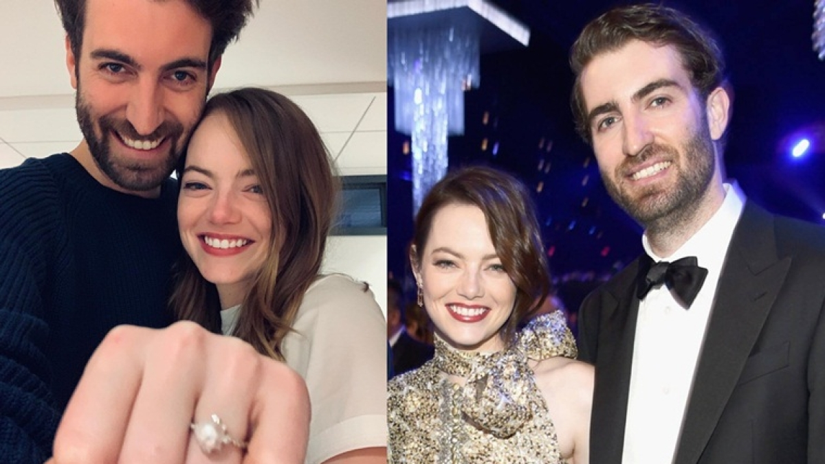 Emma Stone engaged to SNL writer Dave McCary after dating for 3 years