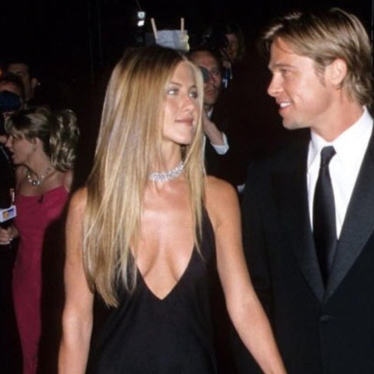 Brad Pitt attends ex-wife Jennifer Aniston's Christmas party