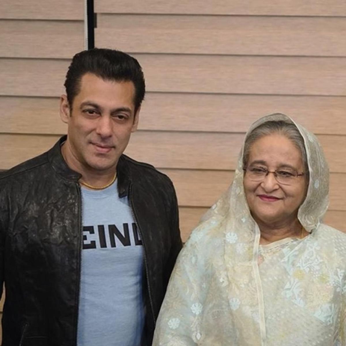 Salman Khan, Katrina Kaif meet Bangladesh PM Sheikh Hasina