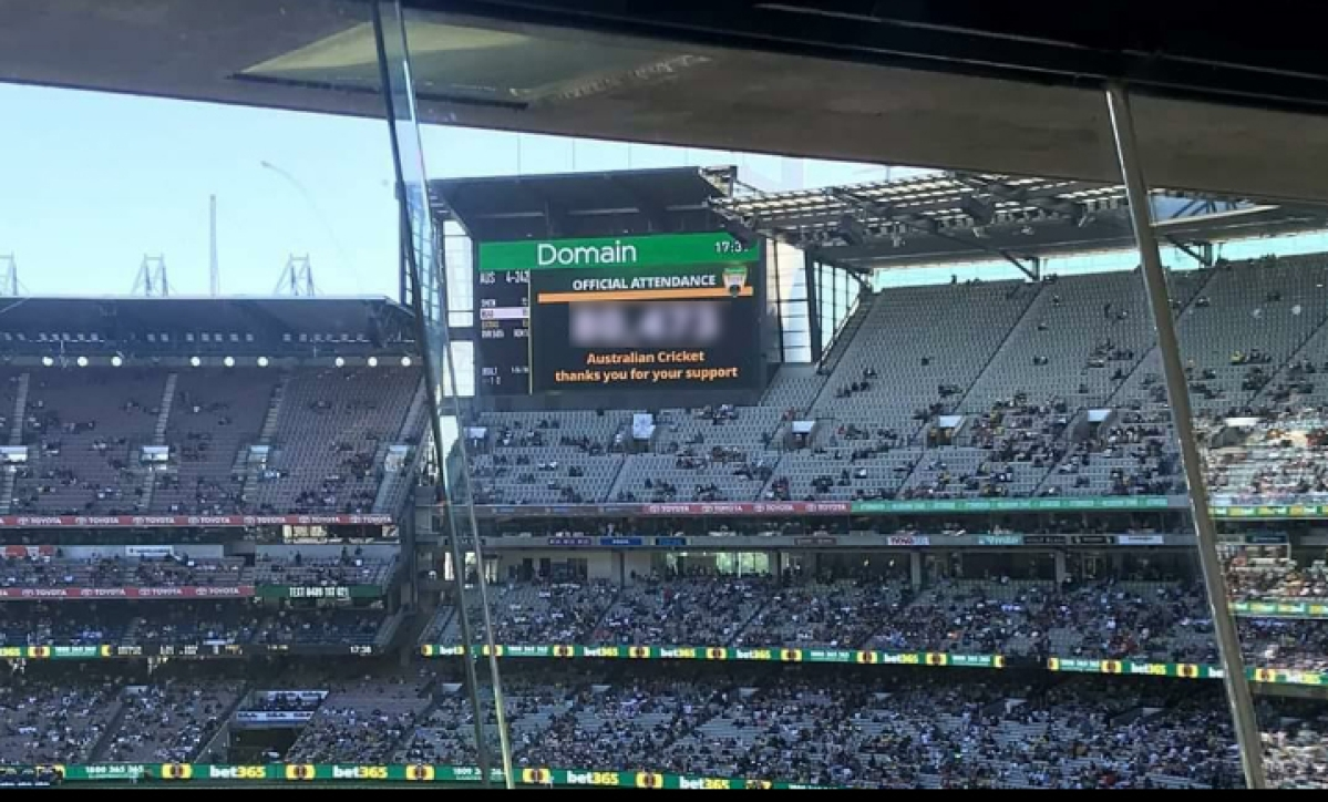 Aus vs NZ: Boxing Day Test breaks attendance record on Day 1