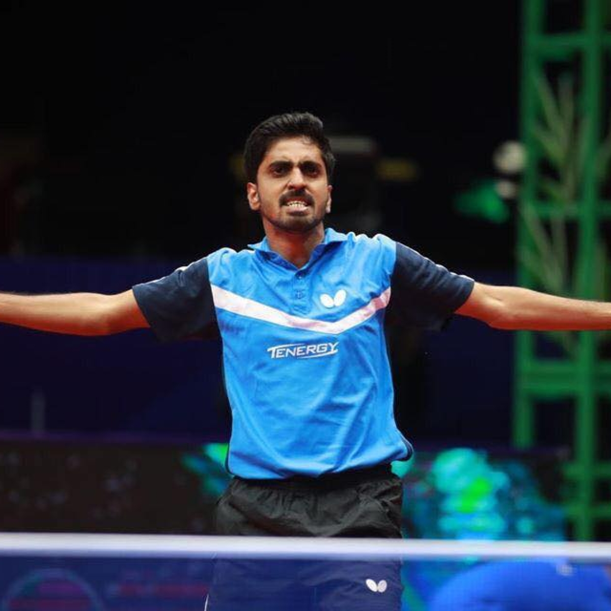 G Sathiyan an emerging player in Indian Table Tennis
