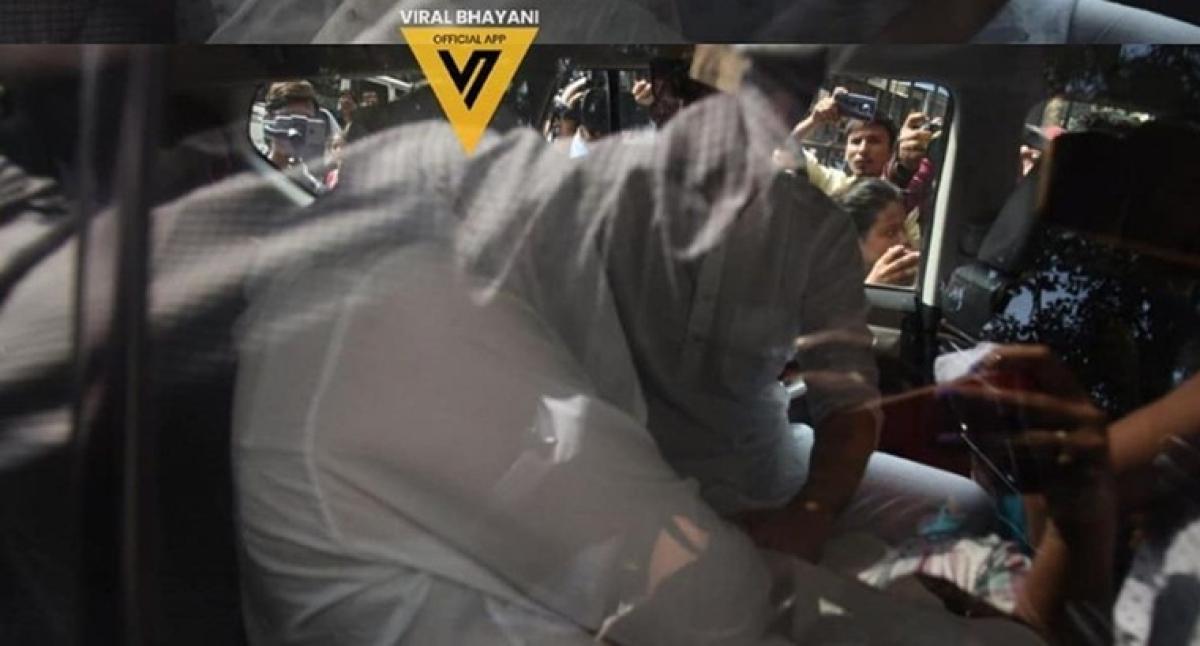 Video: Kushal Punjabi's wife Audrey Dolhen at his funeral