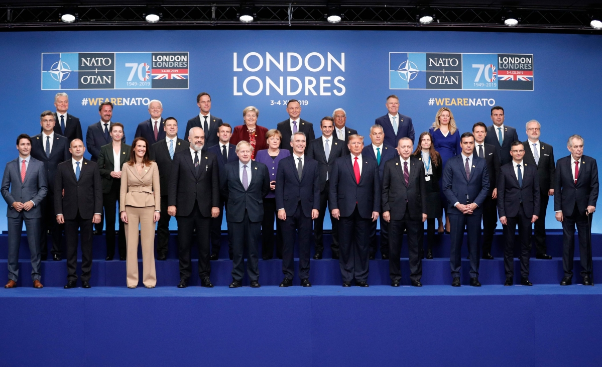 70th anniversary of NATO overshadowed by festering rows