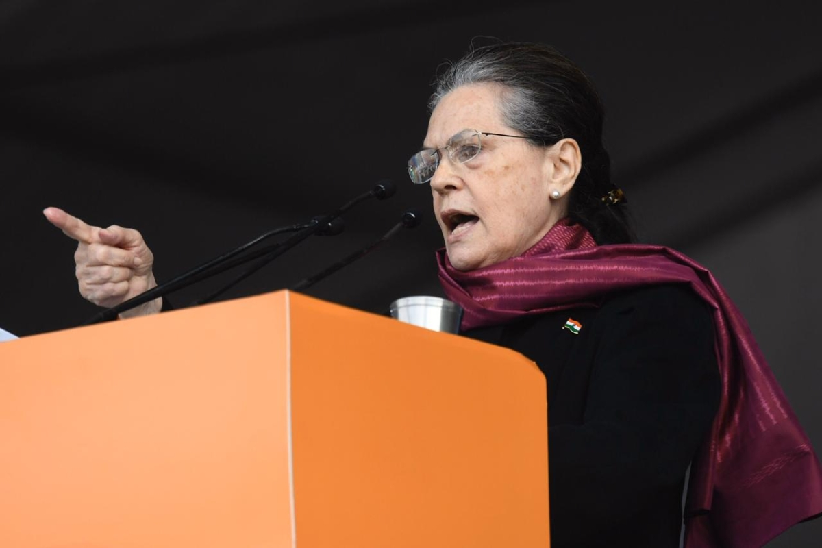 Sonia Gandhi asks Congress-ruled state govt to mull options to override Centre's Farm Laws