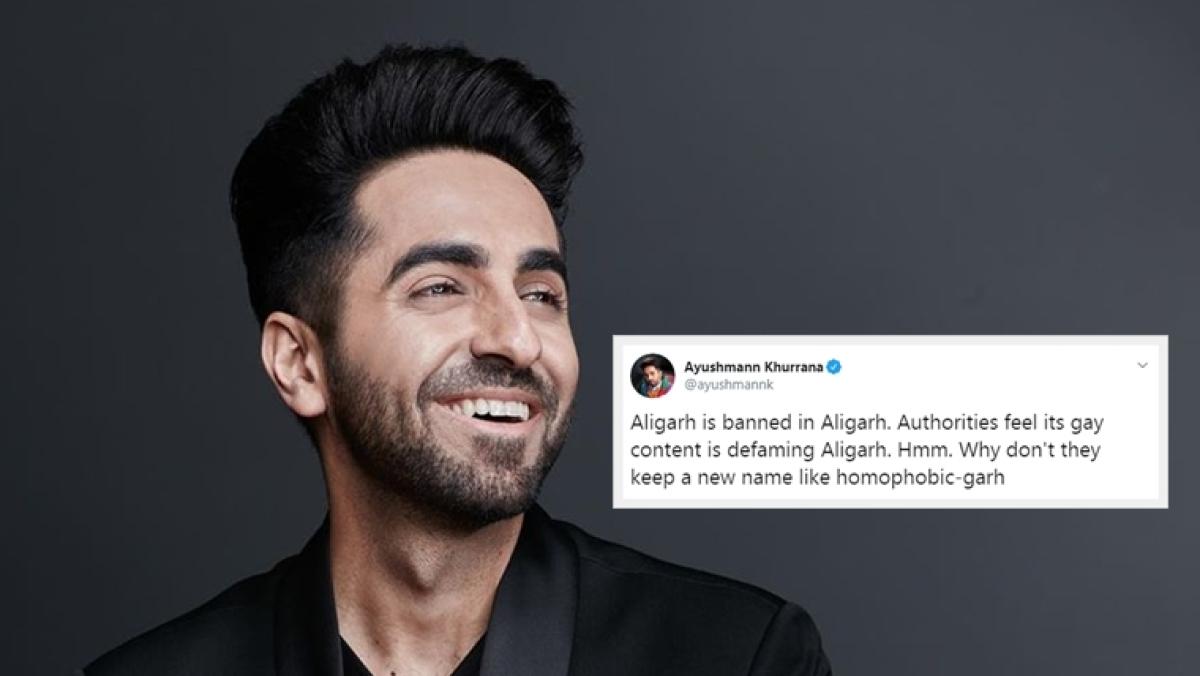 When Ayushmann Khurrana called Aligarh as 'homophobic-garh'