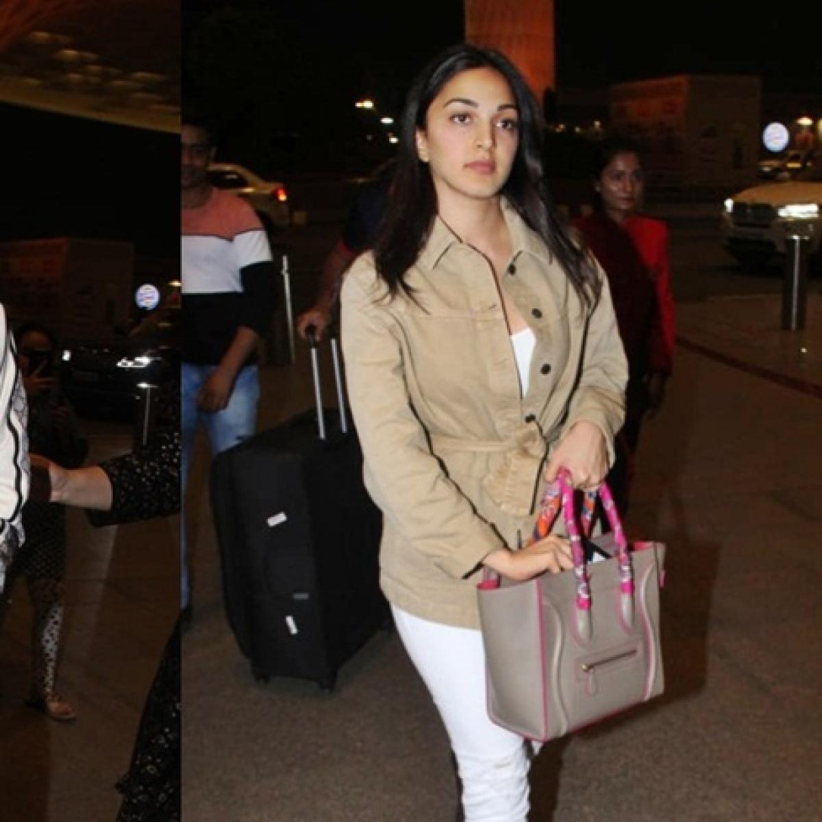 Sidharth Malhotra, Kiara Advani caught leaving for romantic vacay