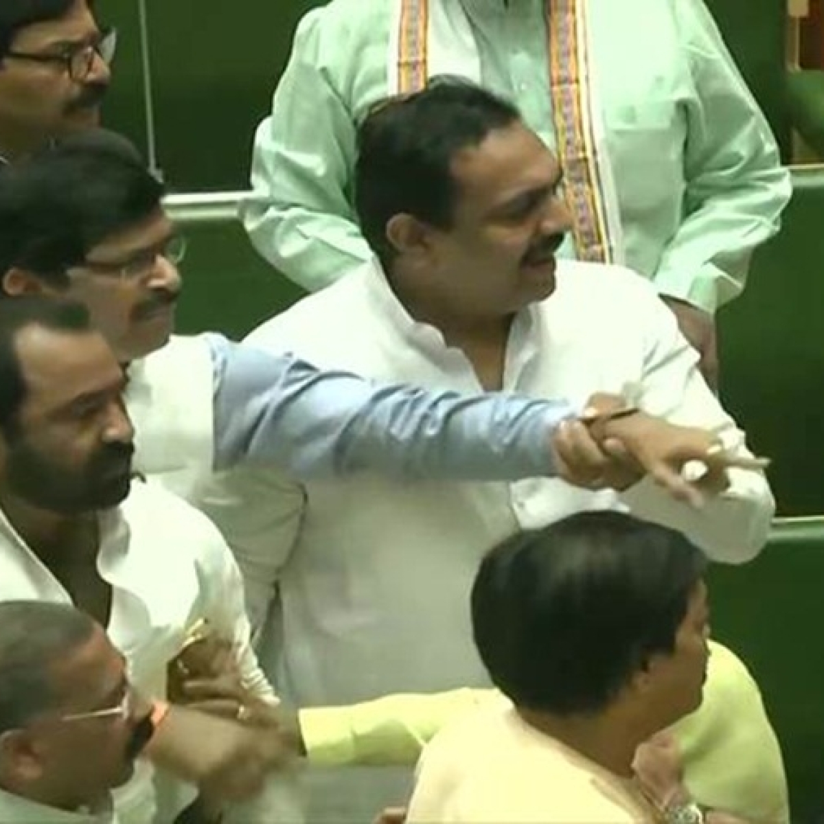 Shiv Sena-BJP relationship hits new low, after scuffle between MLAs in Maharashtra Assembly