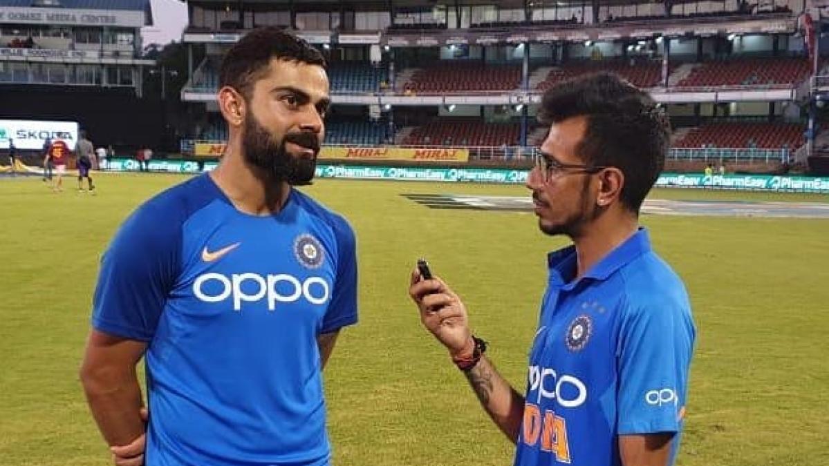 Chahal trolls Kohli, Rahul for copying his batting style