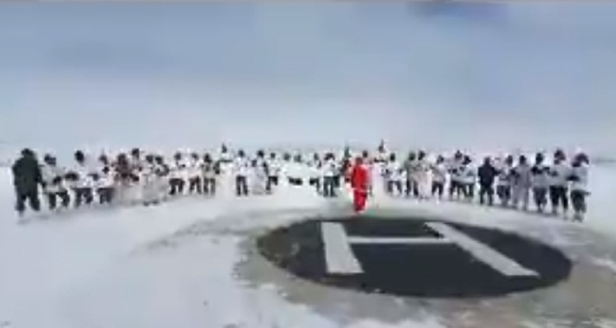 Army jawans celebrate Christmas, singing Jingle Bells in freezing cold near LoC wins hearts