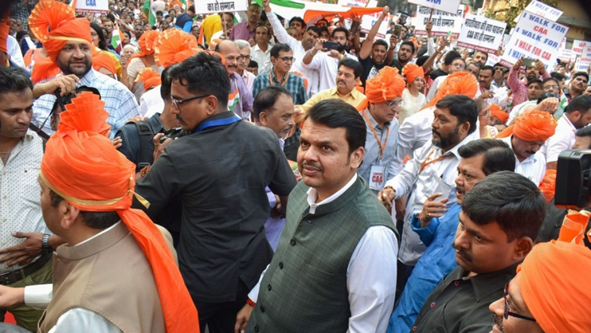 Devendra Fadnavis accidentally ends up 'reaching' anti-CAA protest venue, deletes tweet after goof-up