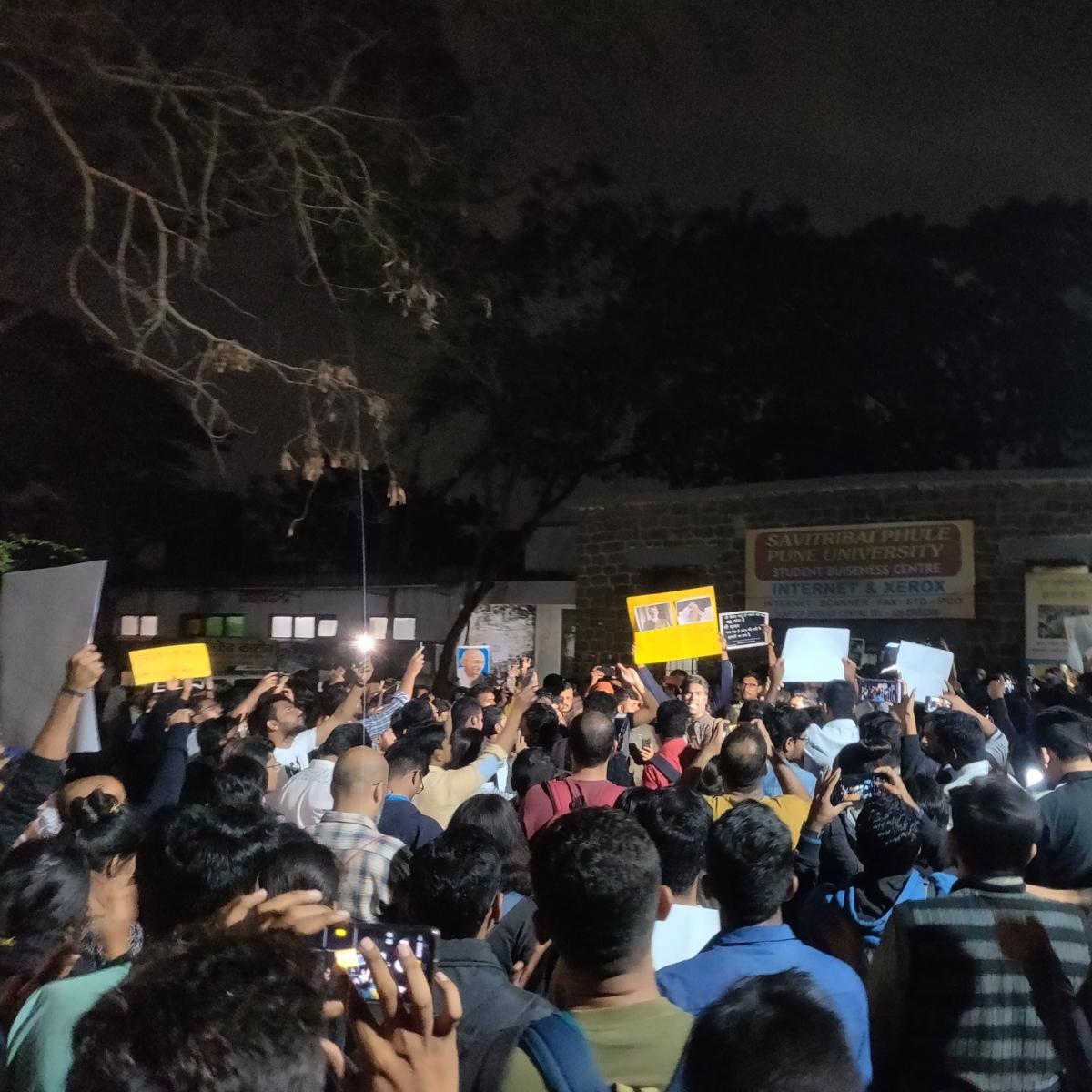 Torch procession at Pune varsity against Citizenship Amendment Act