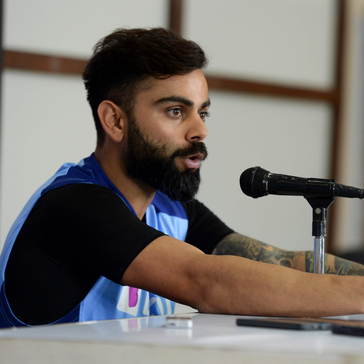 No.5 in T20s is because we haven't fielded strongest XI: Kohli