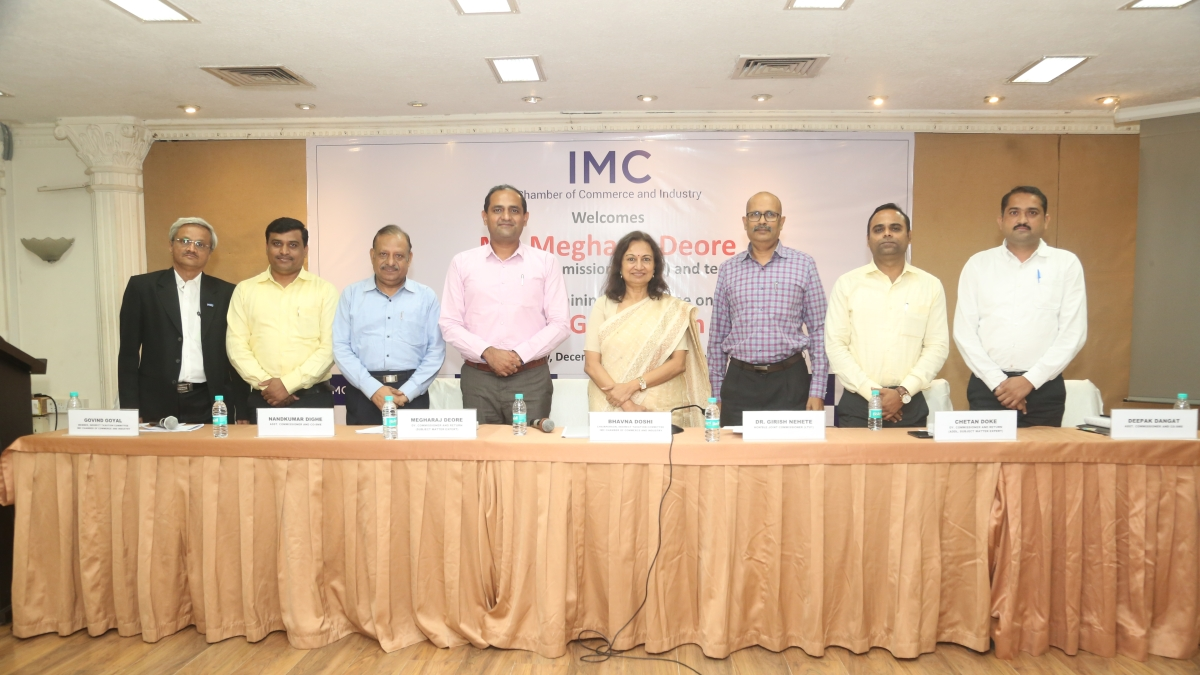 IMC organises programme on New GST Return