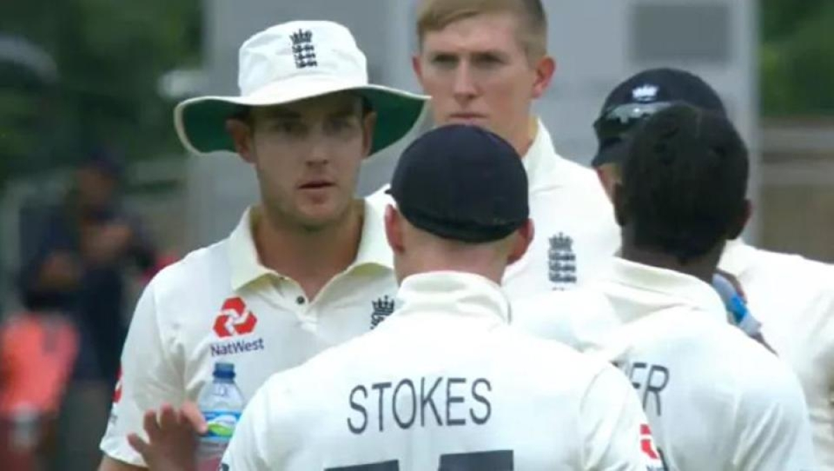 Watch: England pacer Stuart Broad and all-rounder Ben Stokes' heated on-field argument