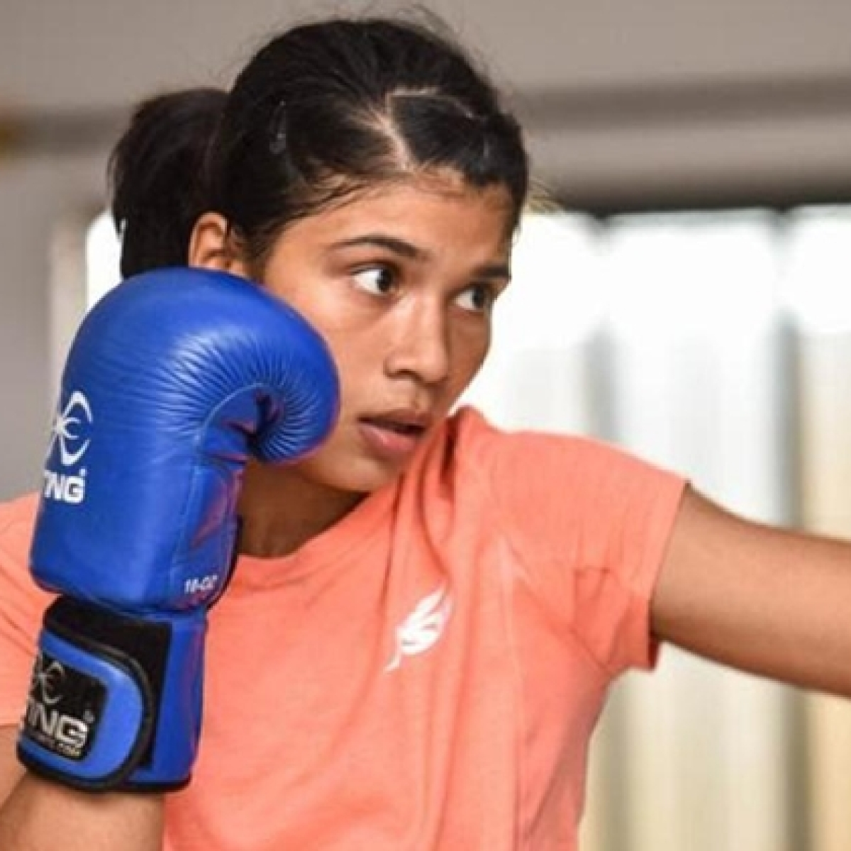 Nikhat Zareen might have lost the bout to Mary Kom
