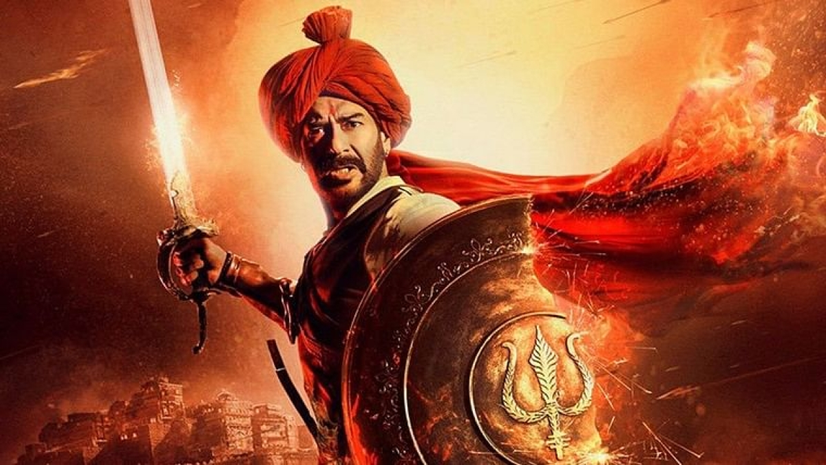 Ajay Devgn deletes the word 'Om' from Maratha flag in 'Tanhaji' after historians point out the discrepancy
