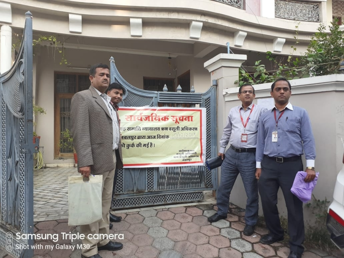 Indore: DRT seizes bungalow of industrialist