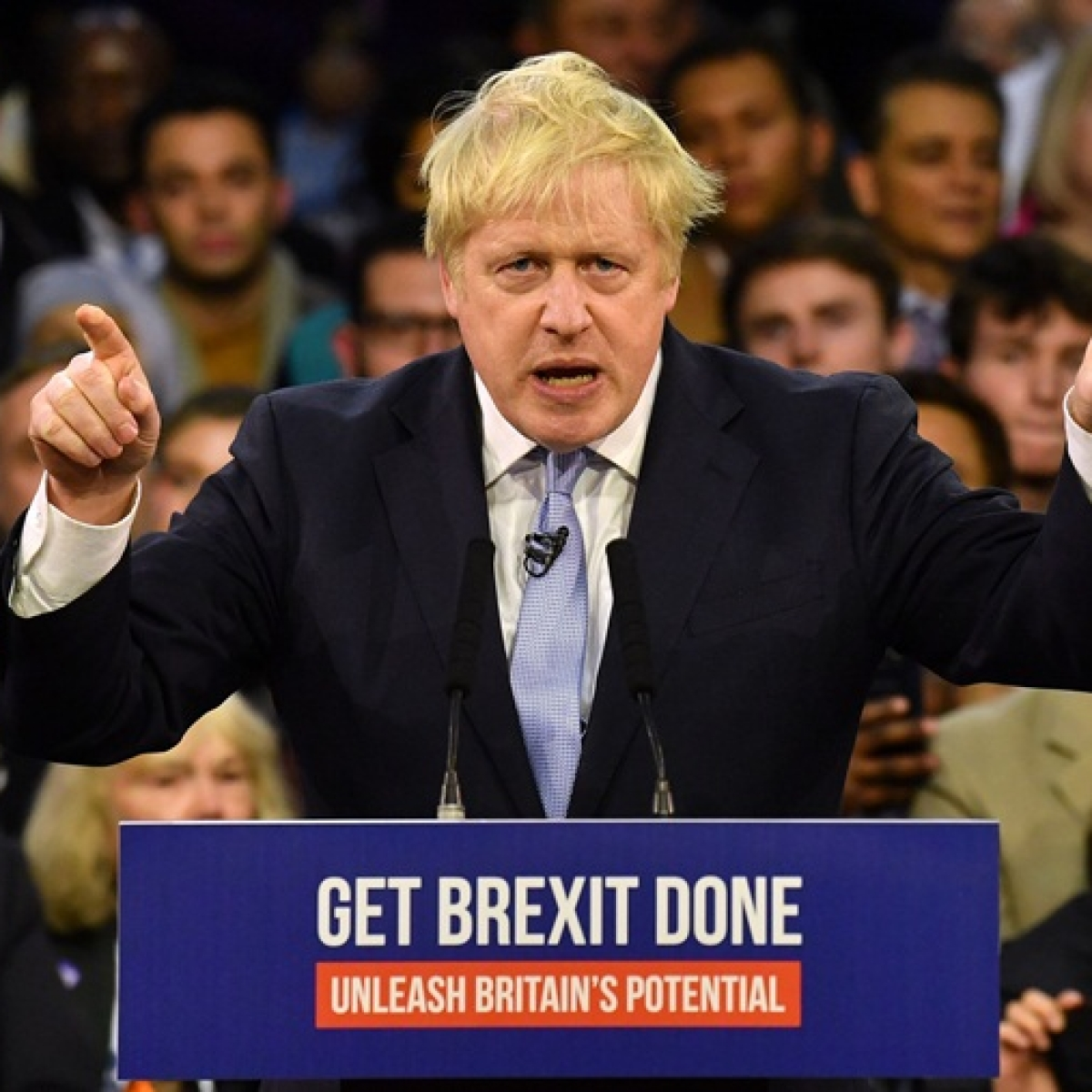 Boris Johnson set to win a clear majority in UK election, exit poll suggests