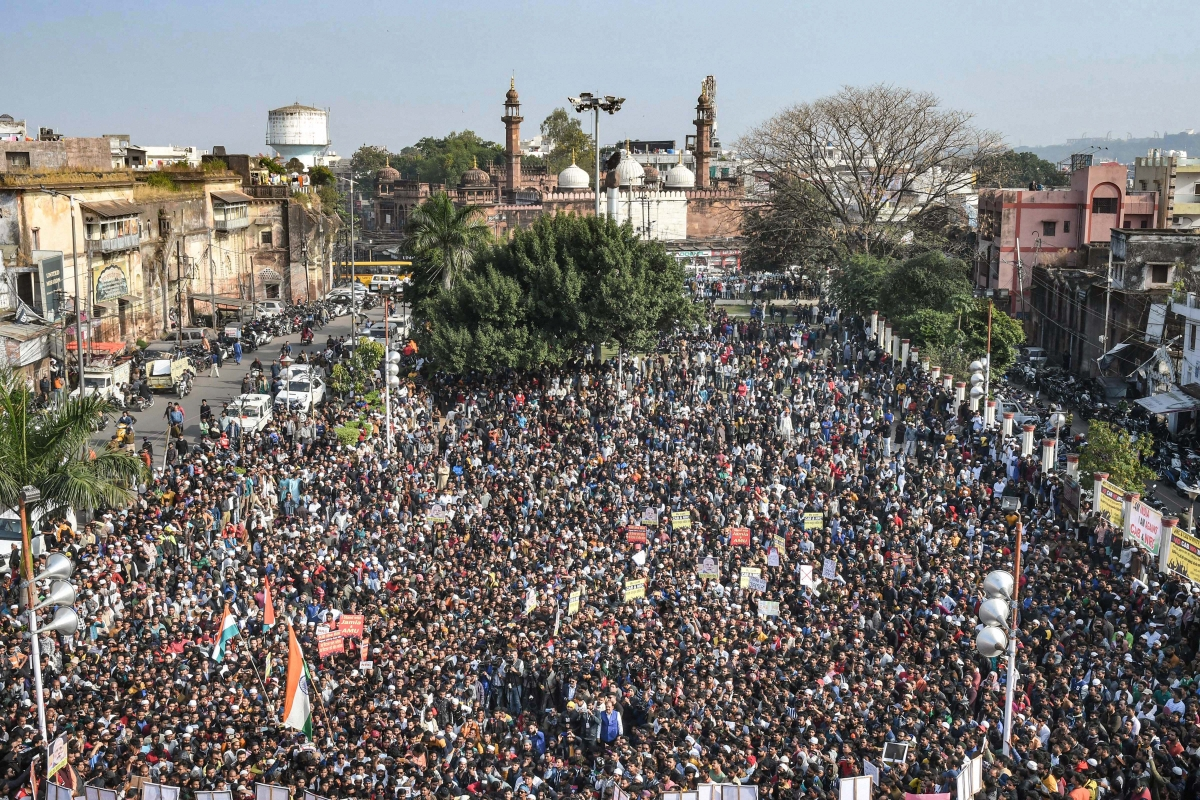 CAA protest in Bhopal: Pratham Sevak should take care of Pratham Sevika, says Digvijaya Singh