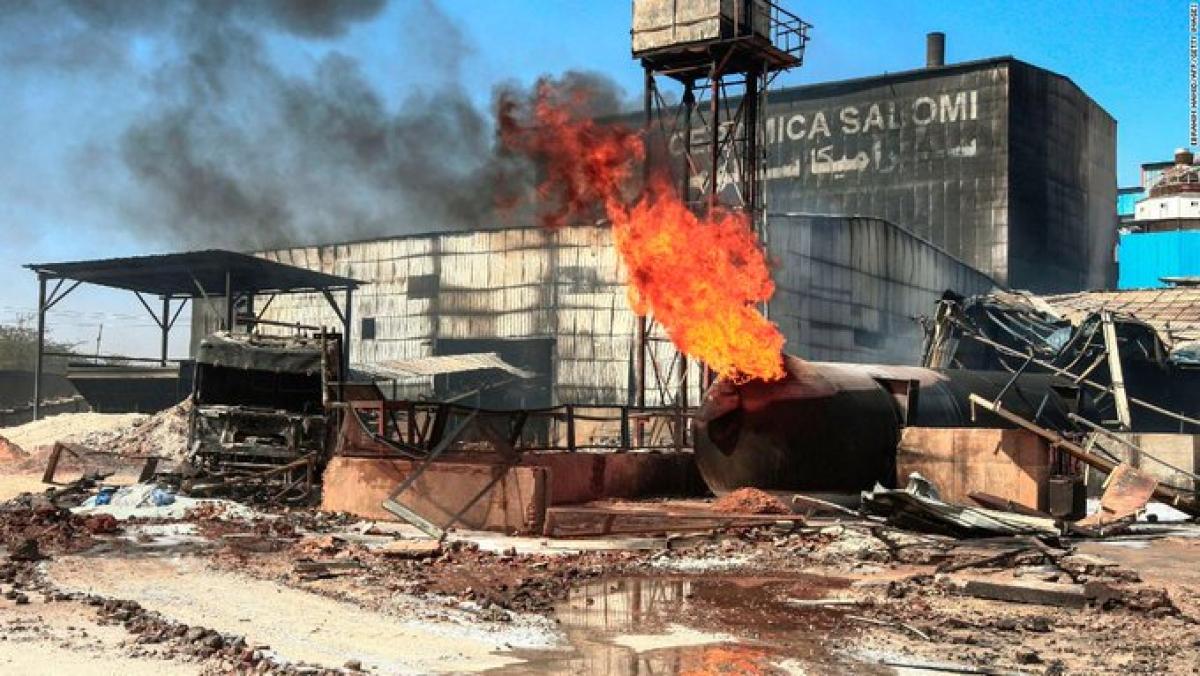 At least 18 Indians dead in LPG tanker blast ceramic factory in Sudan