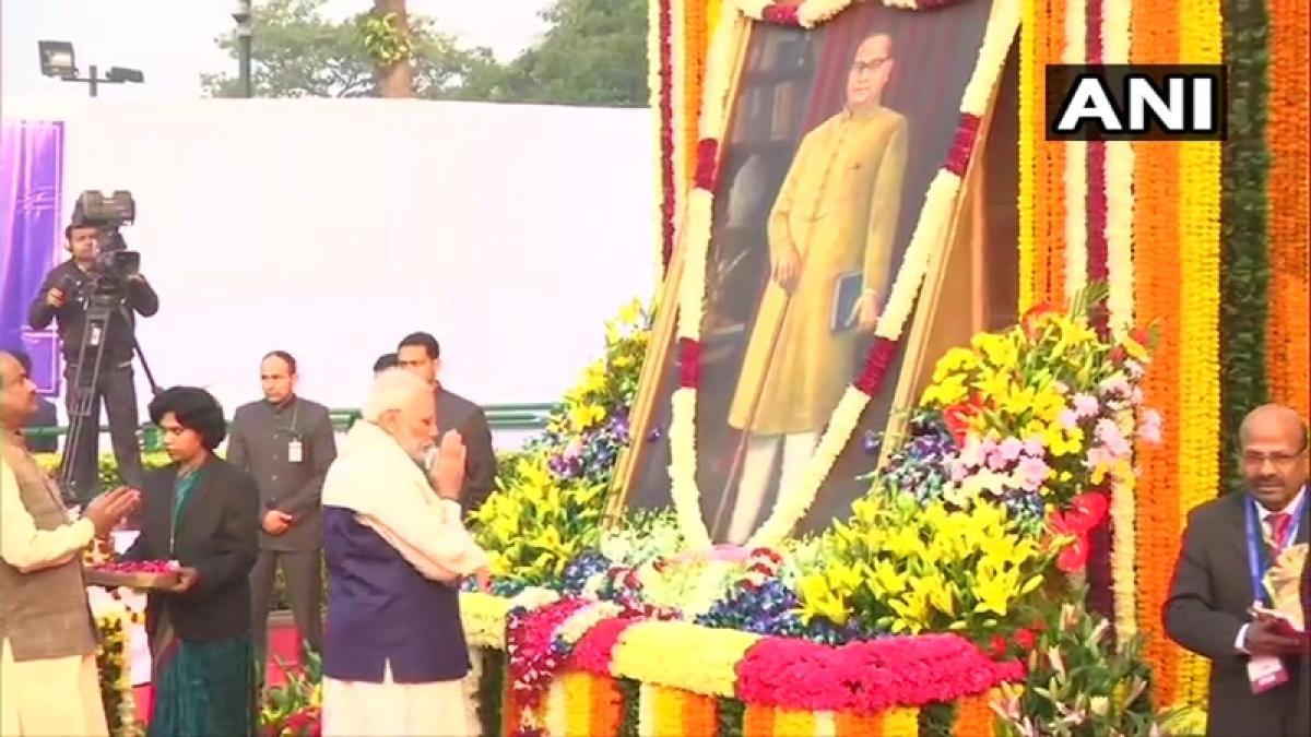 Mahaparinirvan Divas: PM Modi pays tributes to BR Ambedkar on his death anniversary