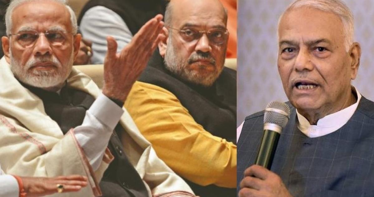 'Beware of Duryodhan and Dusshashan': Yashwant Sinha's vile jibe at Modi-Shah