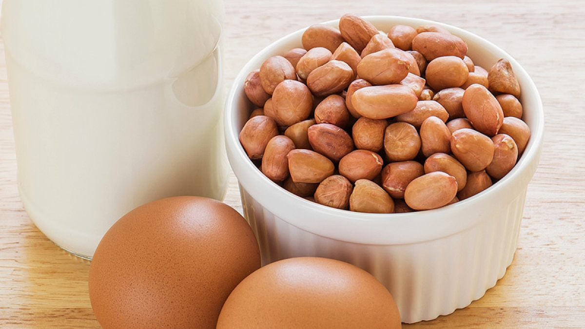 Peanuts, eggs may prevent food allergies in infants