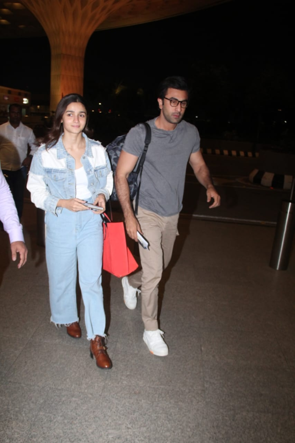 Alia and Ranbir on Saturday night