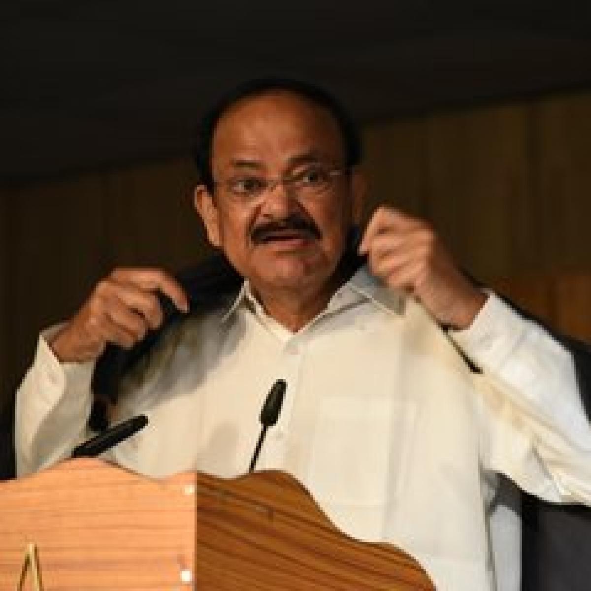 Parties should control 'unruly behaviour' of its MPs: Naidu