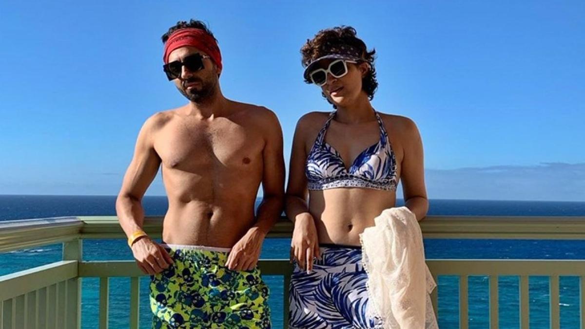 Ayushmann Khurrana and Tahira Kashyap enjoy an exotic Christmas in the Bahamas