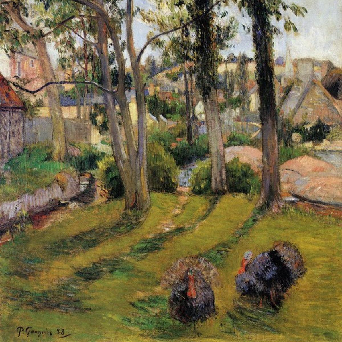 Rare Paul Gauguin painting up for auction in Paris
