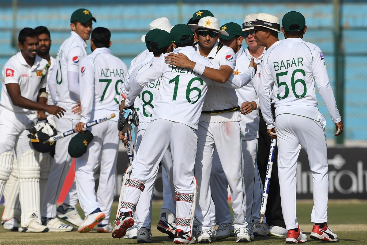 Pak vs SL 2nd Test: Pakistan celebrates series victory at home after 10 years