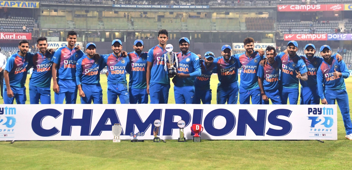 India whacks at Wankhede to clinch the series 2-1