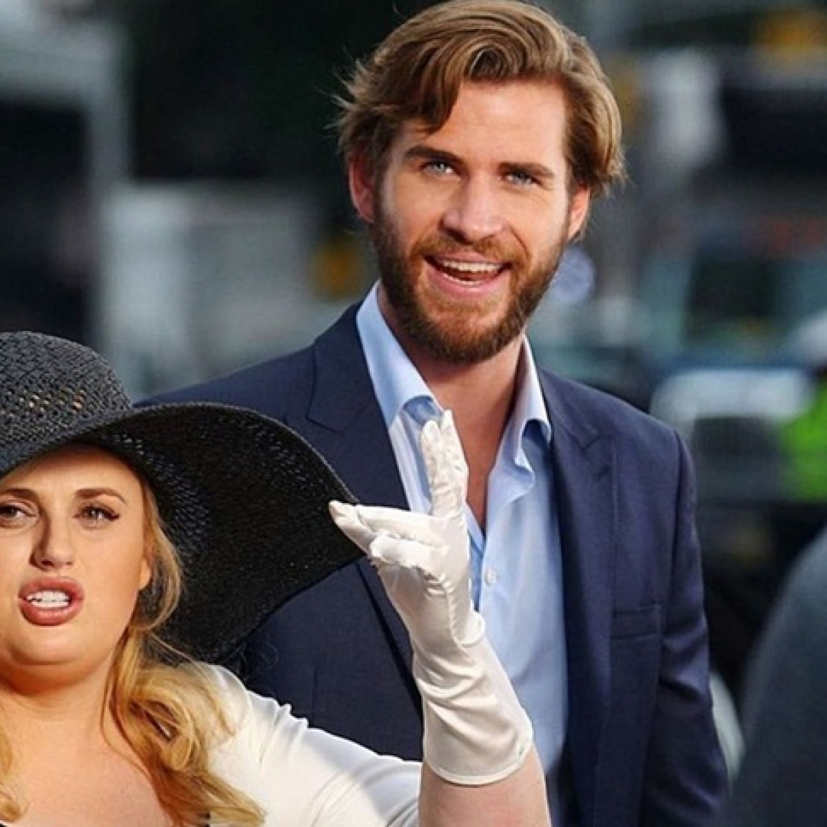 Liam Hemsworth, Rebel Wilson get sued for posting their own pictures