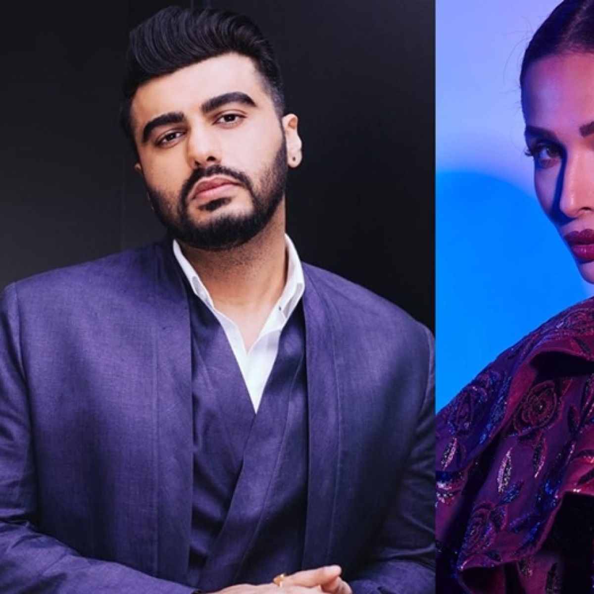 'Sun, star, light, happiness...2020': Malaika Arora wishes beau Arjun Kapoor with a kiss, posts pic
