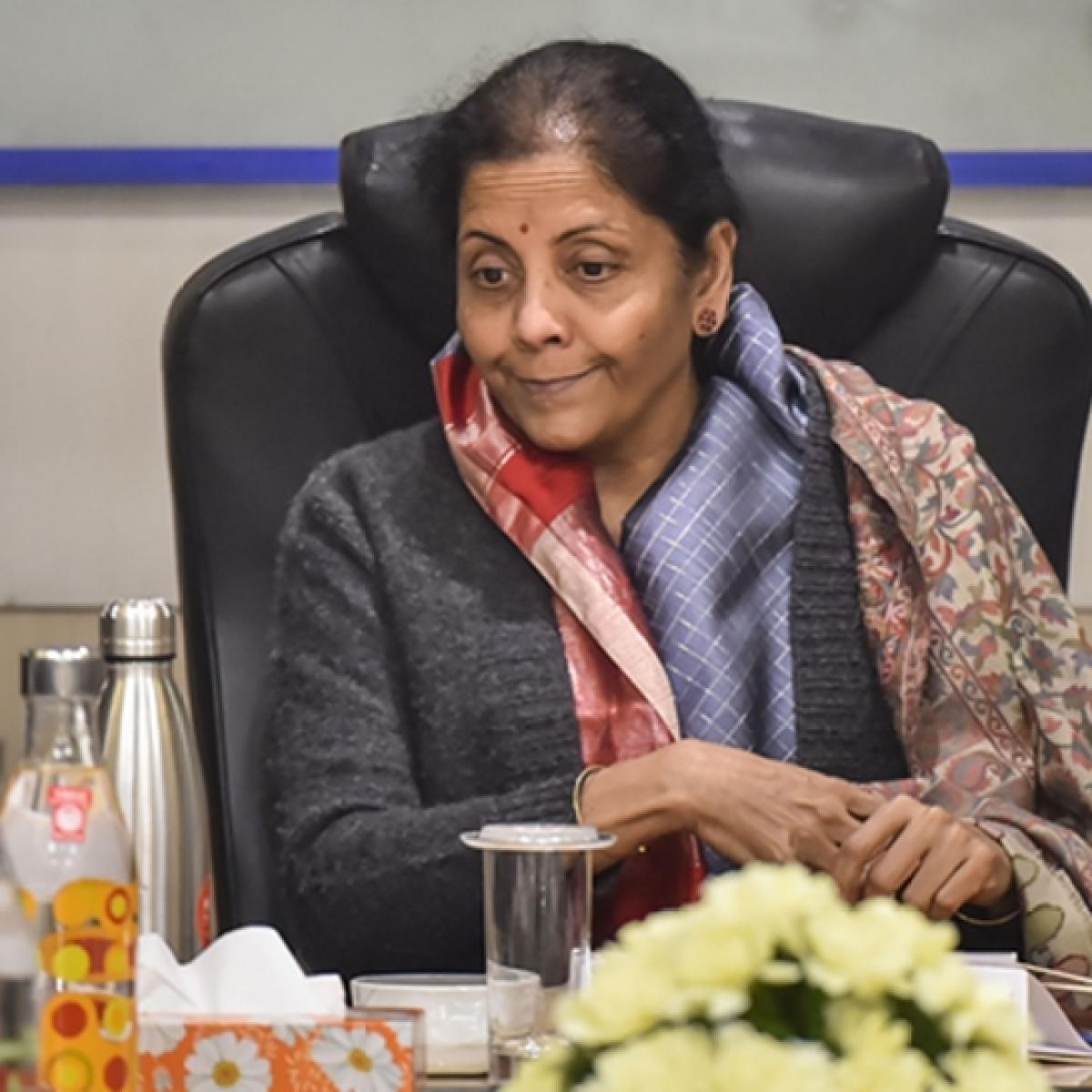 Do not fear '3 Cs', FM tells bankers