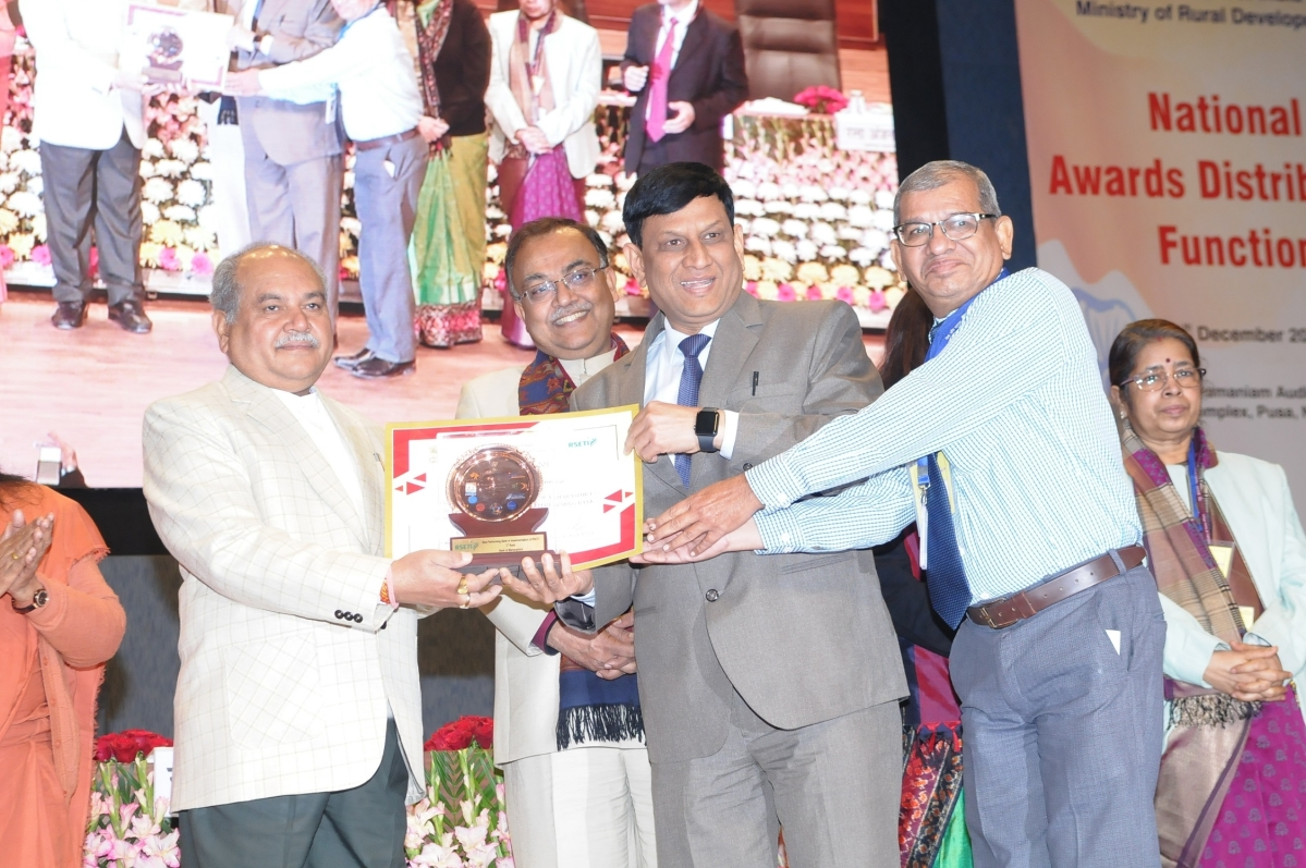 Bank of Maharashtra receives 'Best Performing Bank Award' for RSETIs