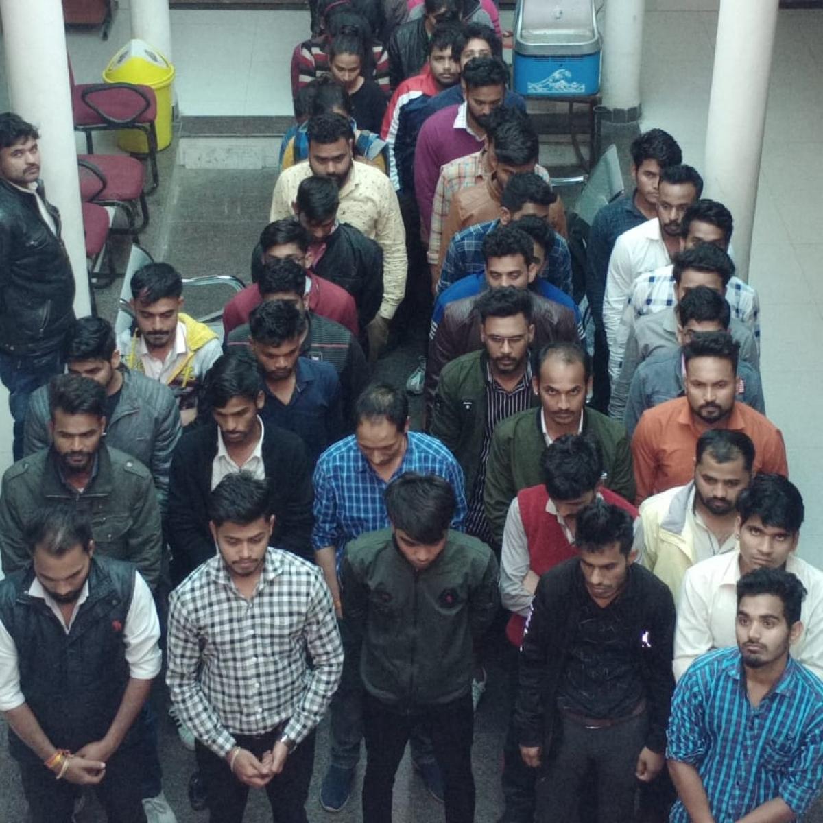 Indore: STF raids share advisory company, arrests 48