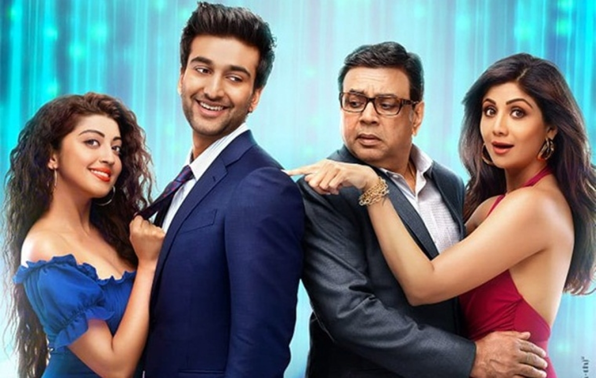 Hungama 2: Makers share intriguing poster of Shilpa Shetty, Paresh Rawal starrer