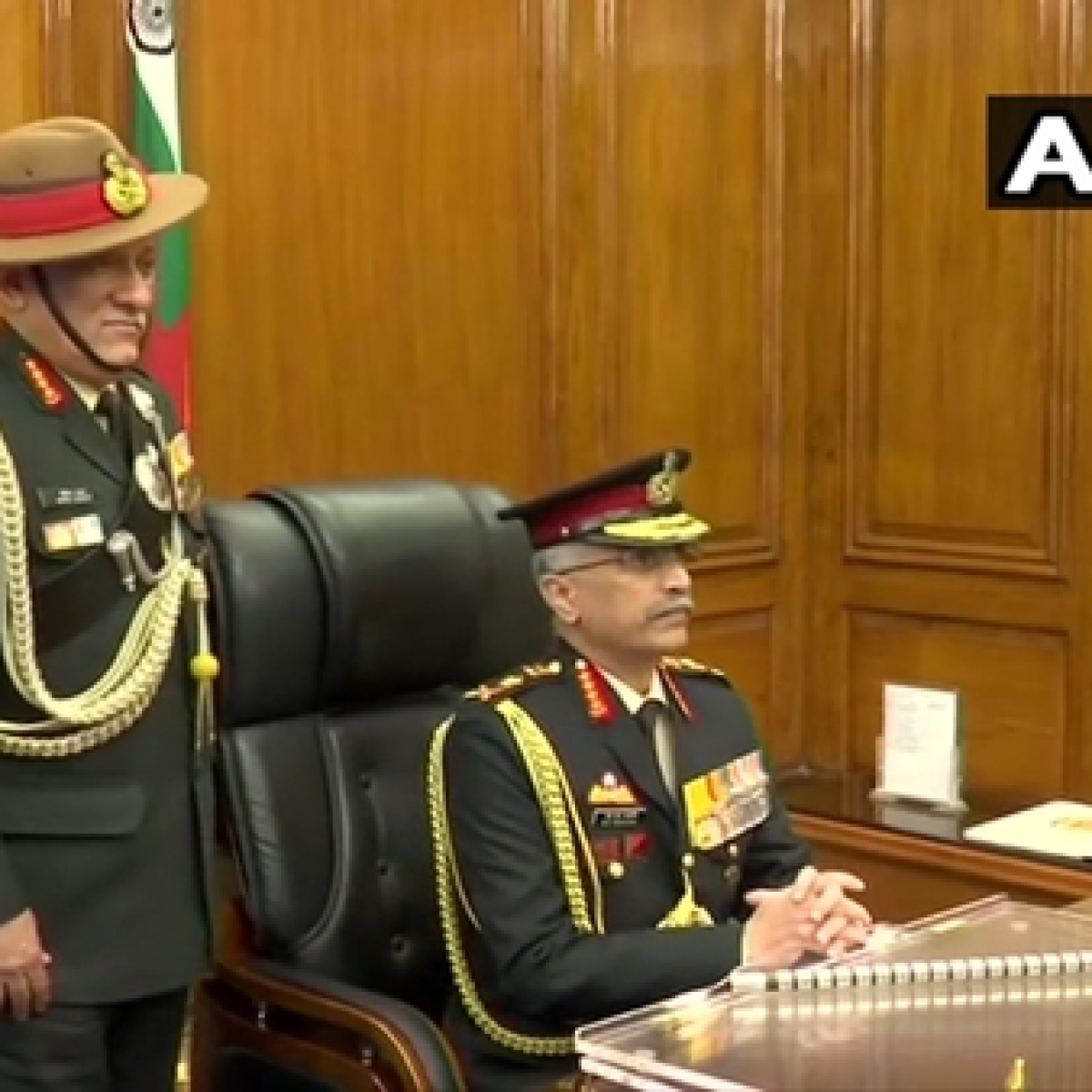 General Manoj Mukund Naravane takes charge as new Army chief