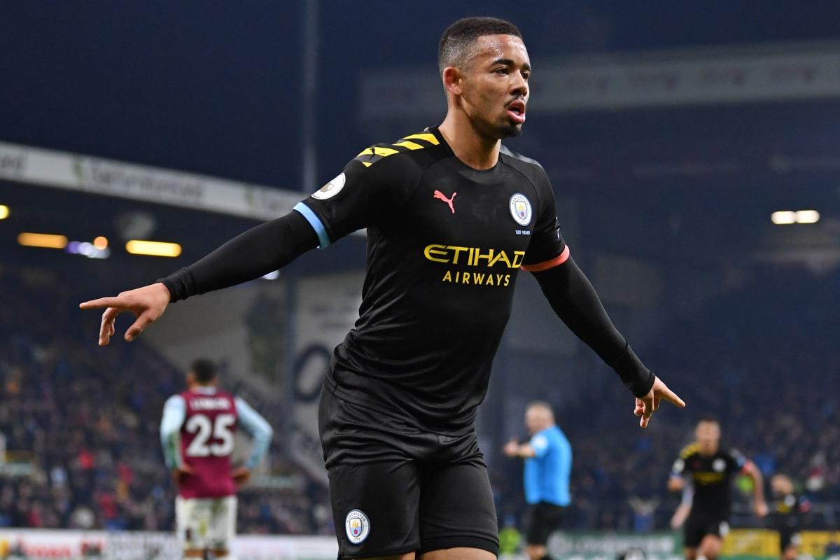 EPL: Jesus scores twice, Man City 4-1 victory over Burnley FC