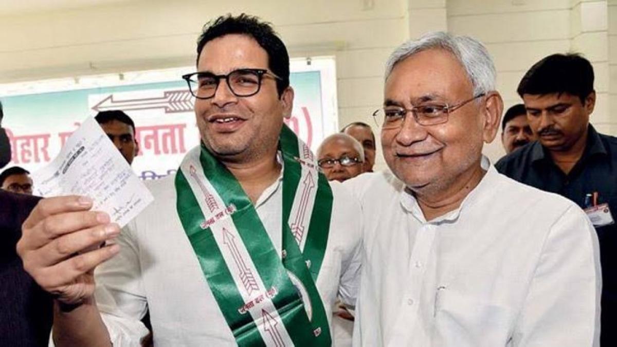 Prashant Kishore, two other JDU leaders face action