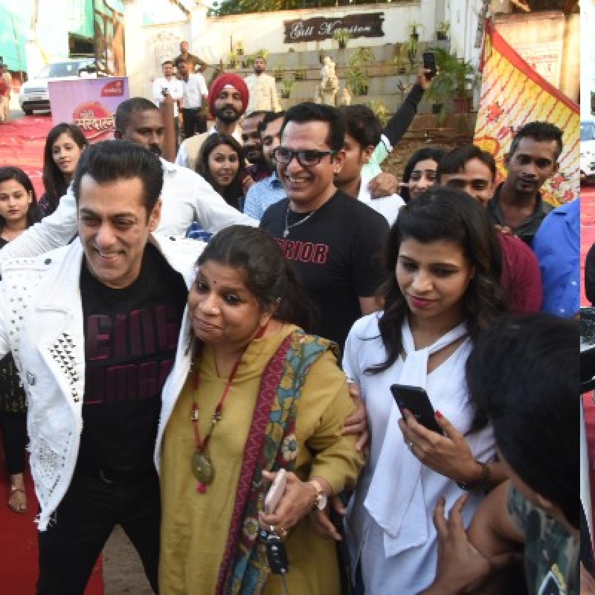 Watch: Salman Khan's bodyguard turns himself into 'Bhai' to protect the actor