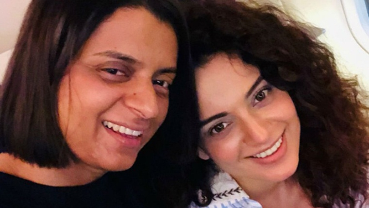 Rangoli Chandel sends legal notice to Forbes for ranking Kangana Ranaut low on Celebrity 100 List
